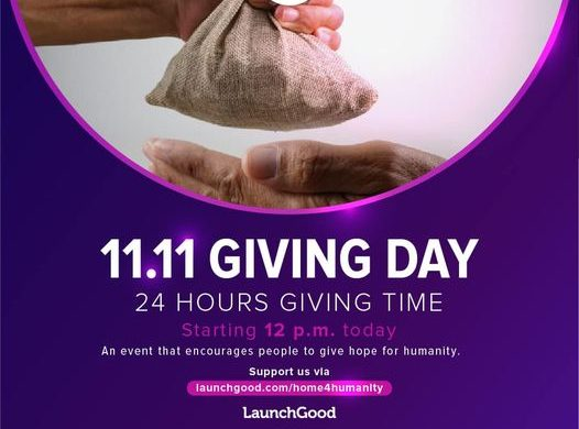 11.11 Giving Day for Gaza